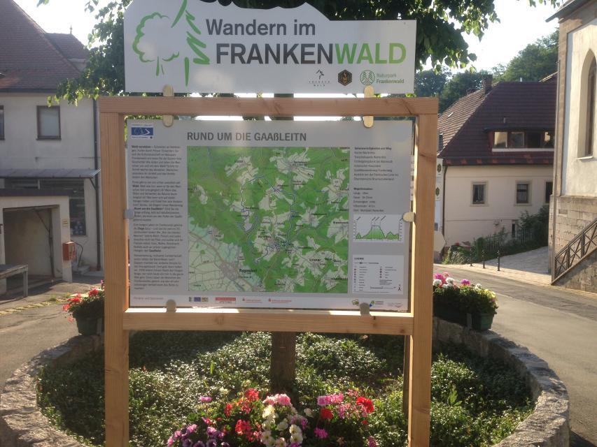 Ausgangspunkt FrankenwaldSteigla Rund um die Gaaßleitn