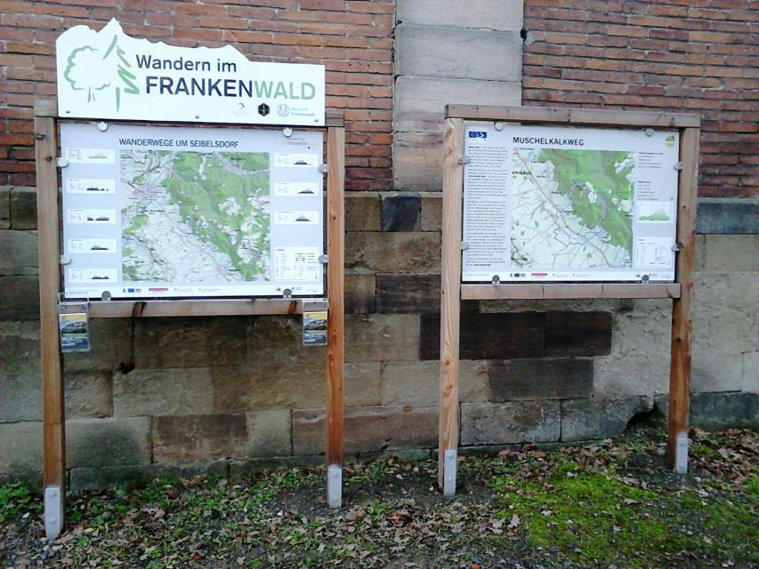 Ausgangspunkt FrankenwaldSteigla Muschelkalkweg