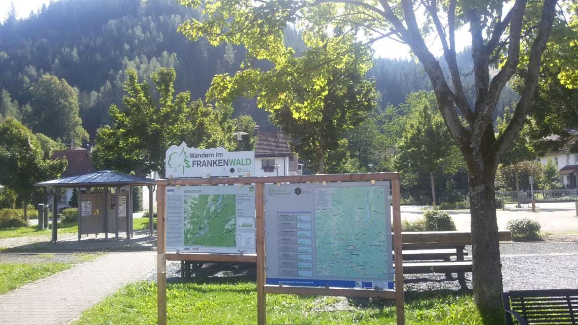 Ausgangspunkt FrankenwaldSteigla Ködeltour