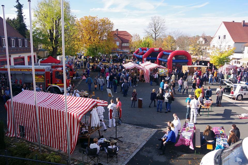 Herbstmarkt mit Vereinsmeile in Küps