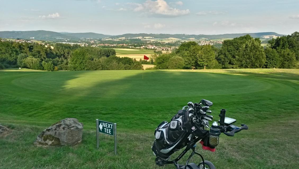 Golfplatz in Küps-Nagel
