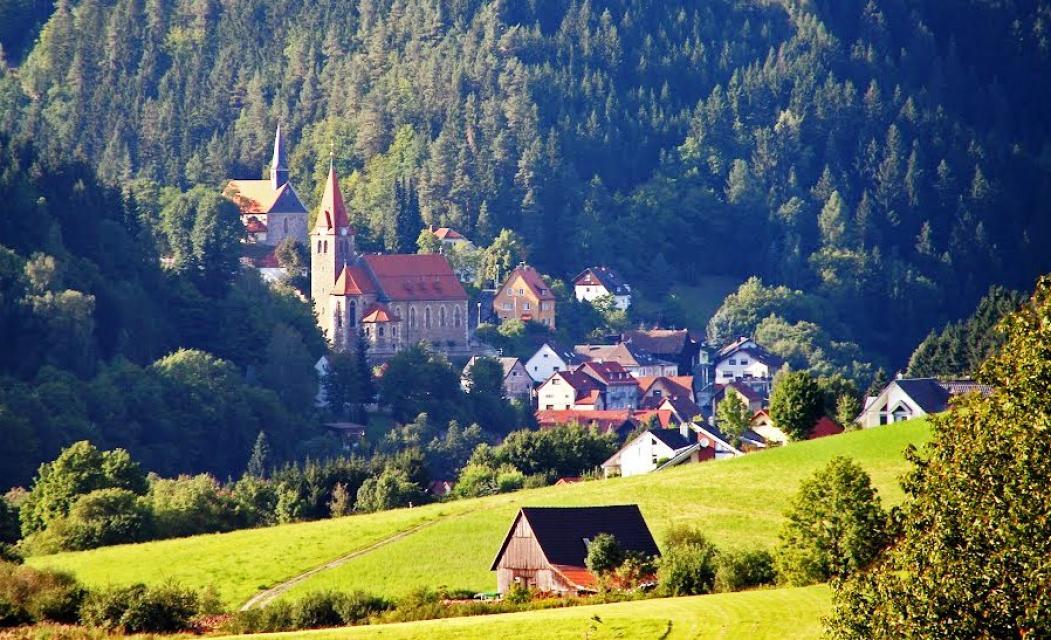Blick auf Steinberg
