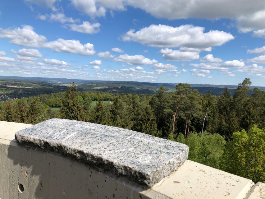 Aussicht vom Lucas-Cranach-Turm