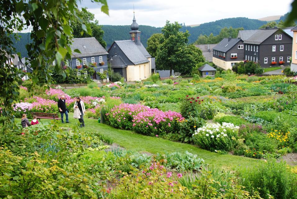 Dorfgarten Steinbach an der Haide
