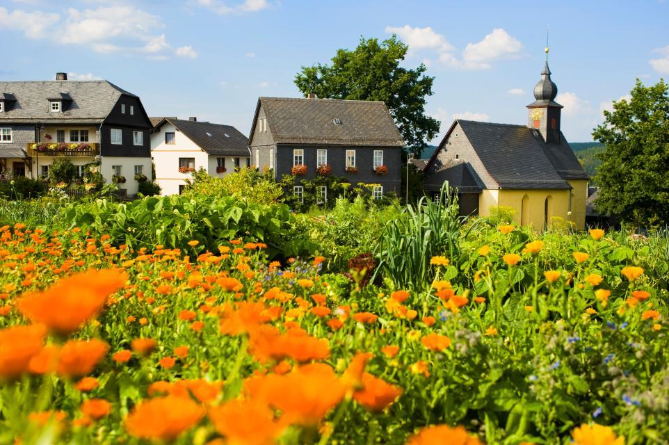 Schieferdorf Steinbach an der Haide