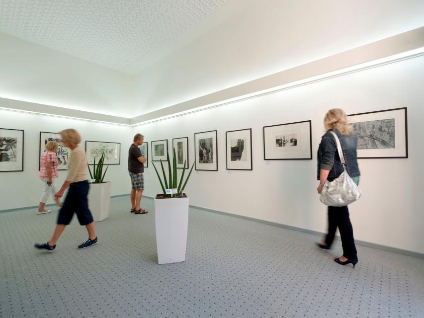 Im Grafikmuseum Stiftung Schreiner