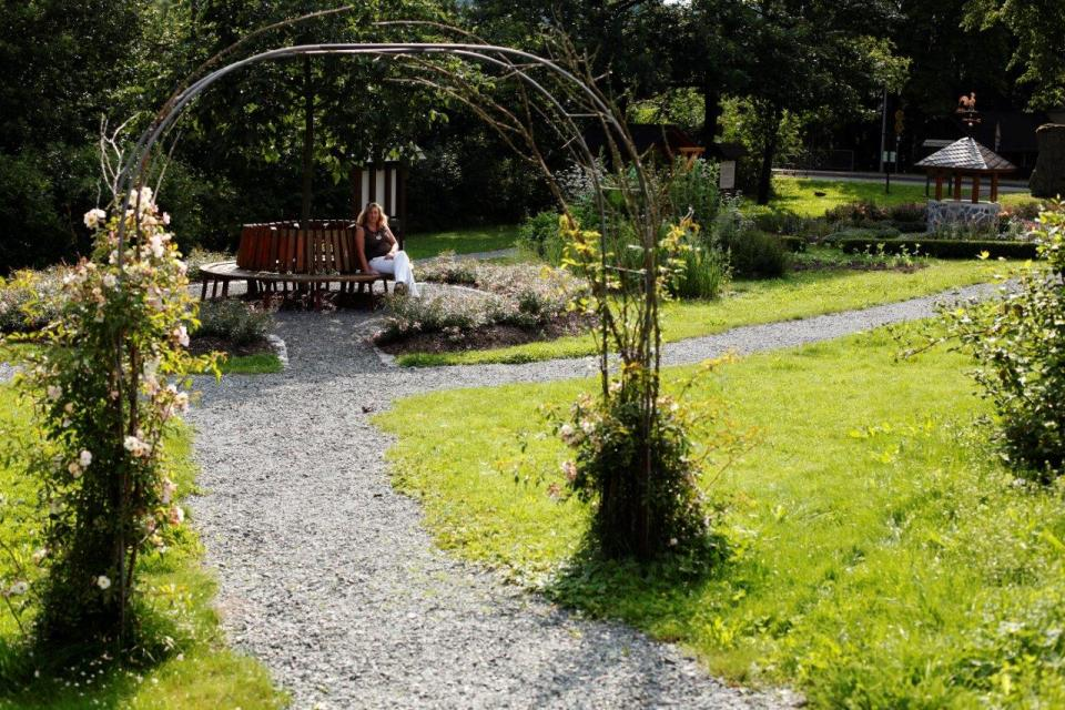 Der Rennsteig-Park in Steinbach am Wald