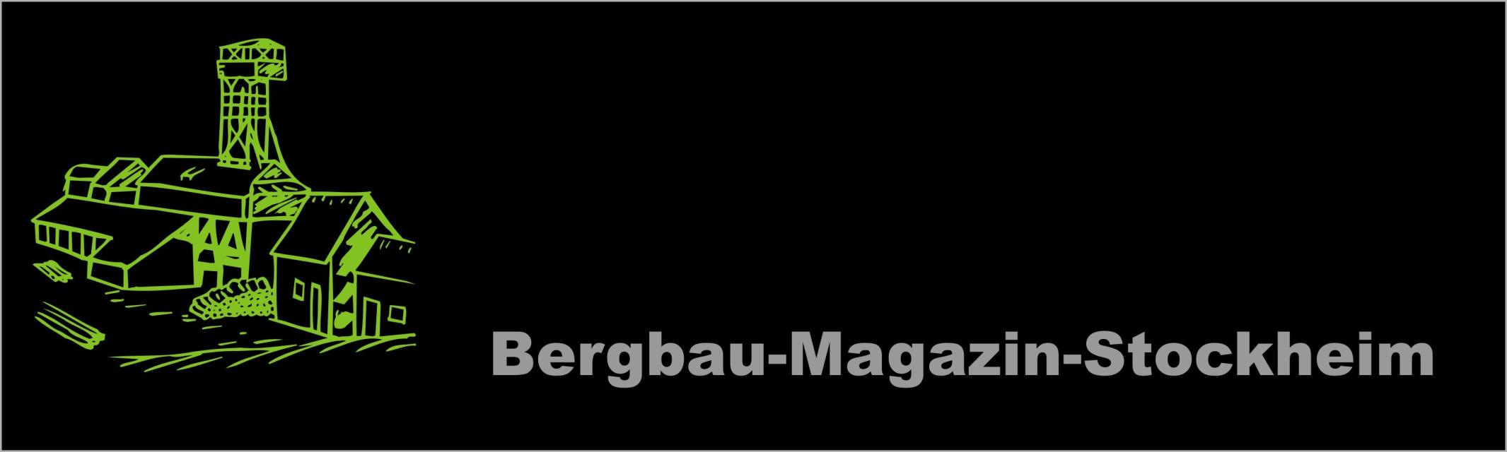 Logo Bergbaumagazin Stockheim