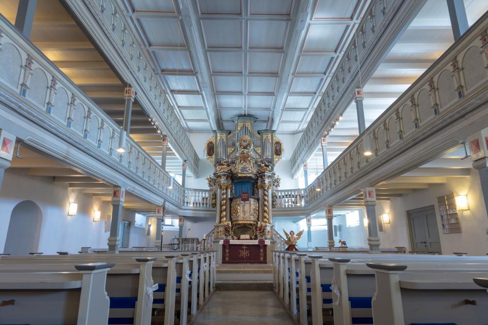 In der Stadtkirche Selbitz