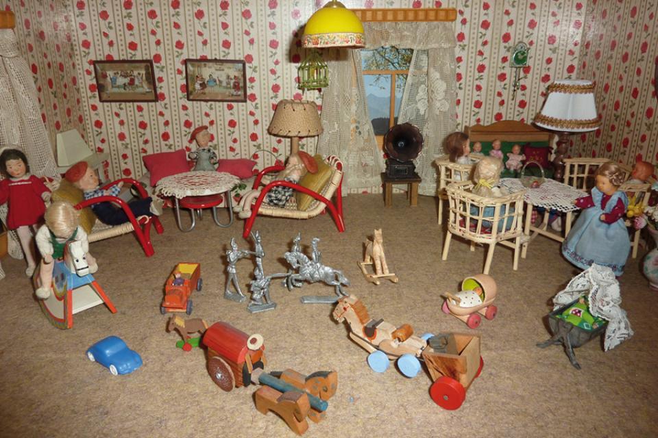Museum Naila Puppenhaus Kinderzimmer