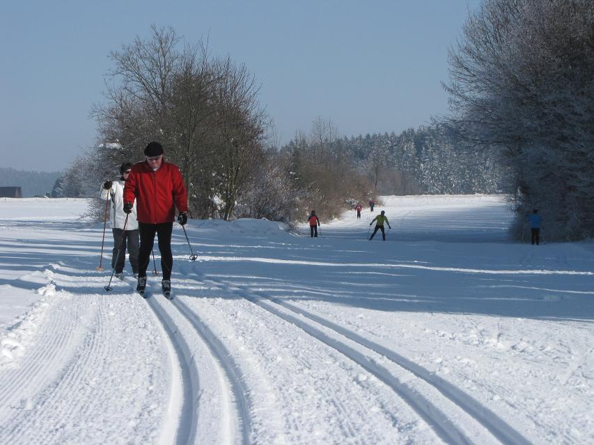 Langlauf im Frankenwald