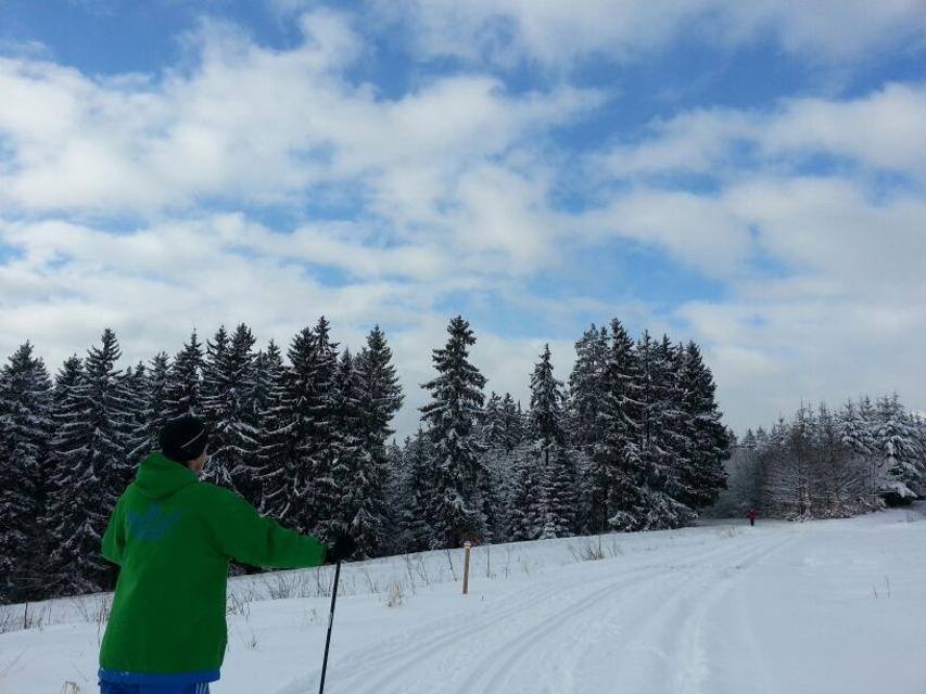 Langlauf Rennsteigregion im Frankenwald