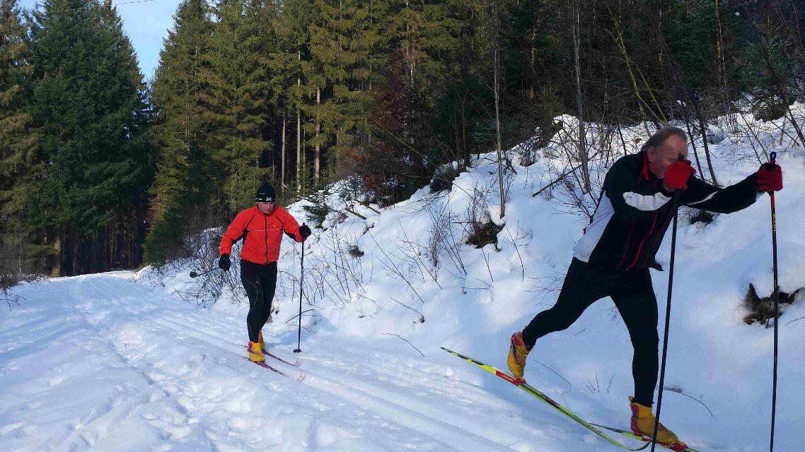 Skilanglauf im Frankenwald