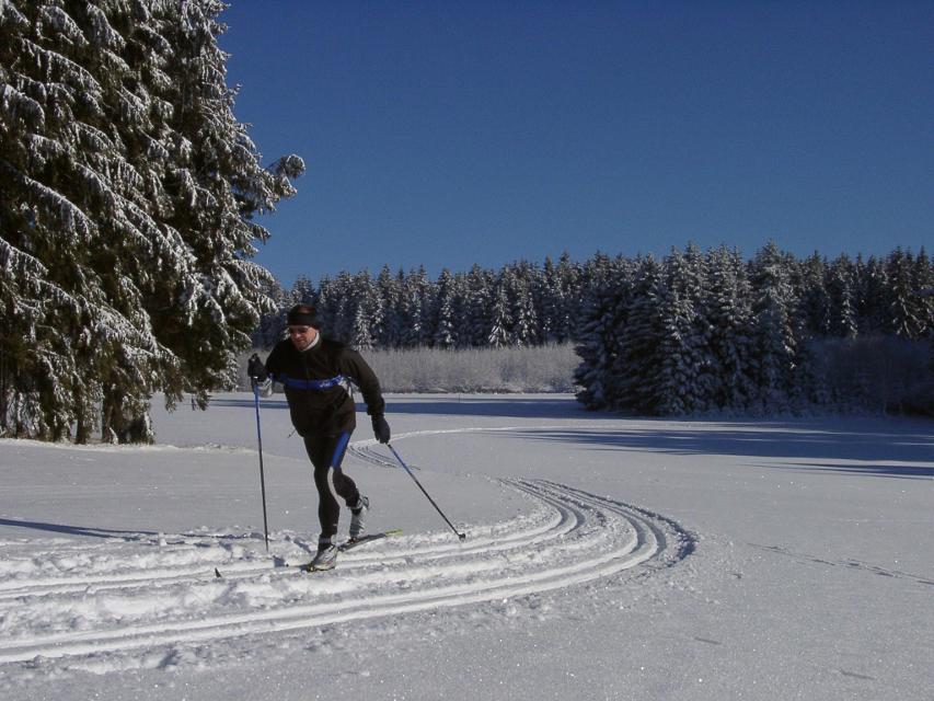 Langlauf in der Rennsteigregion im Frankenwald
