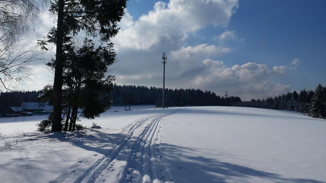 Winteridylle im Frankenwald