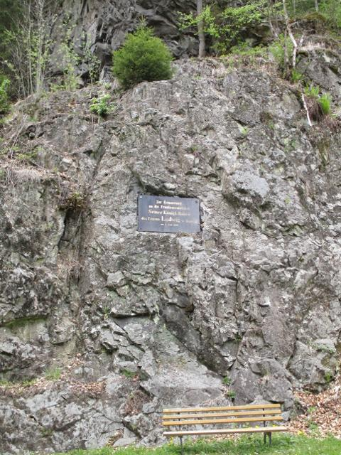 Erinnerungstafel Prinz-Luitpold von Bayern