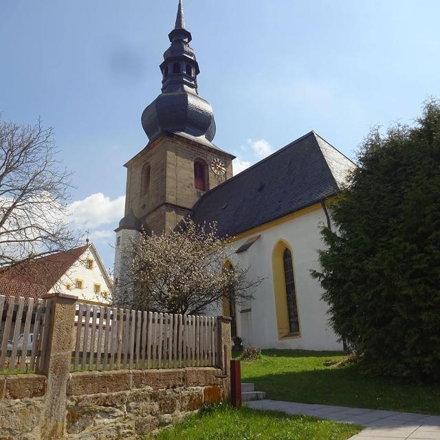 Kirche Untersteinach