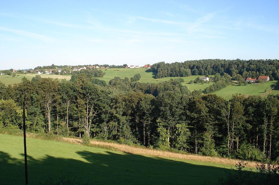 Blick von der Heunischenburg