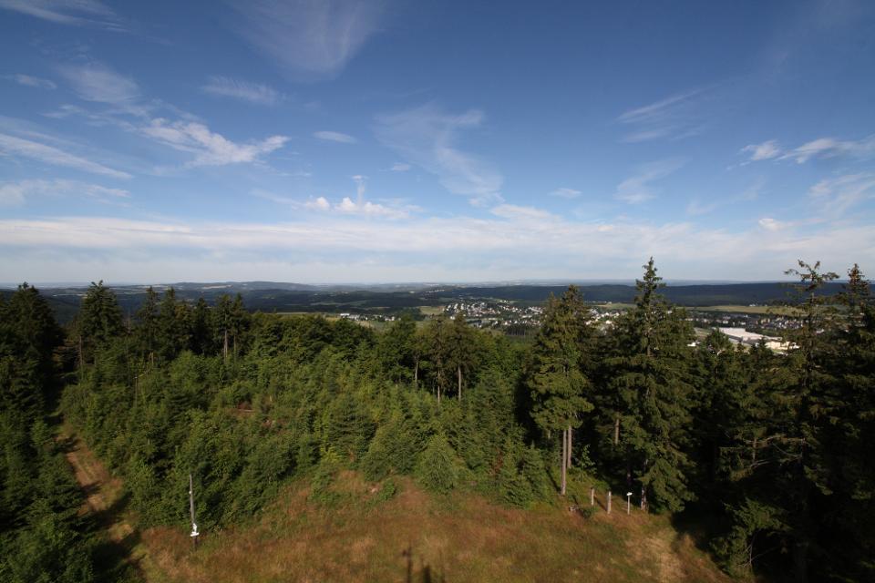 Blick vom Prinz Luitpold Turm