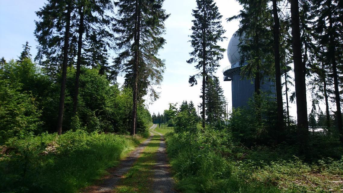 Radarstation am Döbraberg