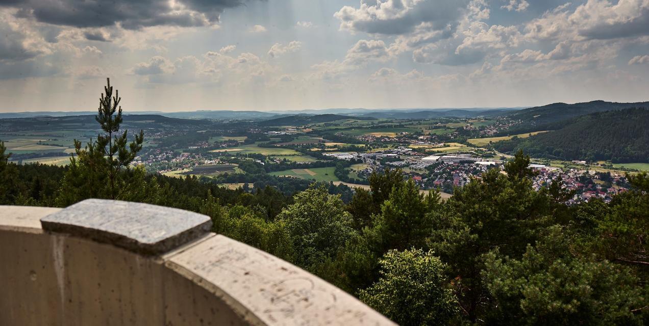 Blick vom Lucas-Cranach-Turm