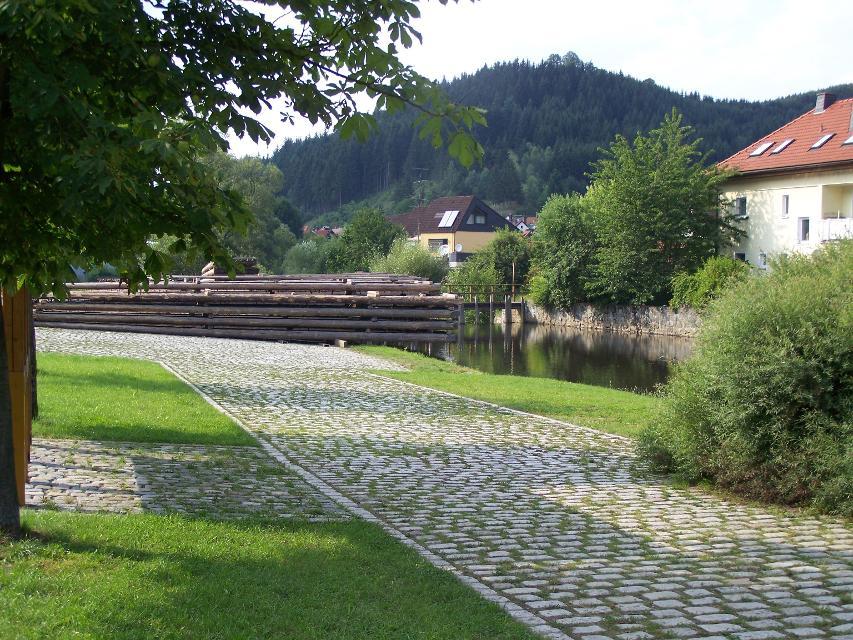 Floßlände Wallenfels