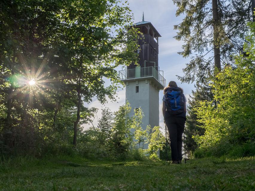 Abstecher zum Radspitzturm