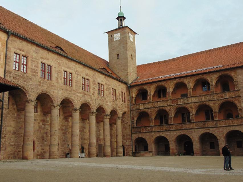 Innenhof der Plassenburg