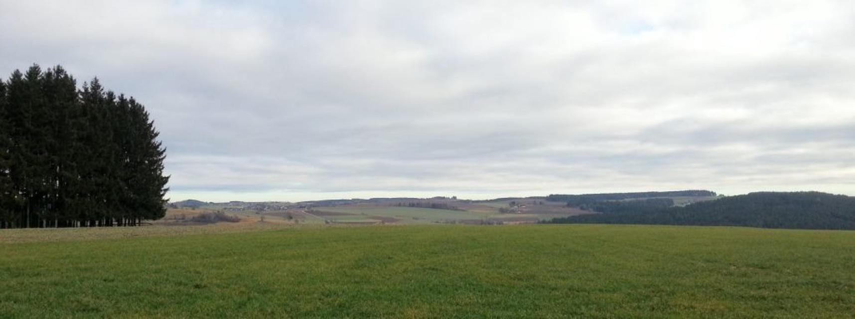 Blick nach Neudorf