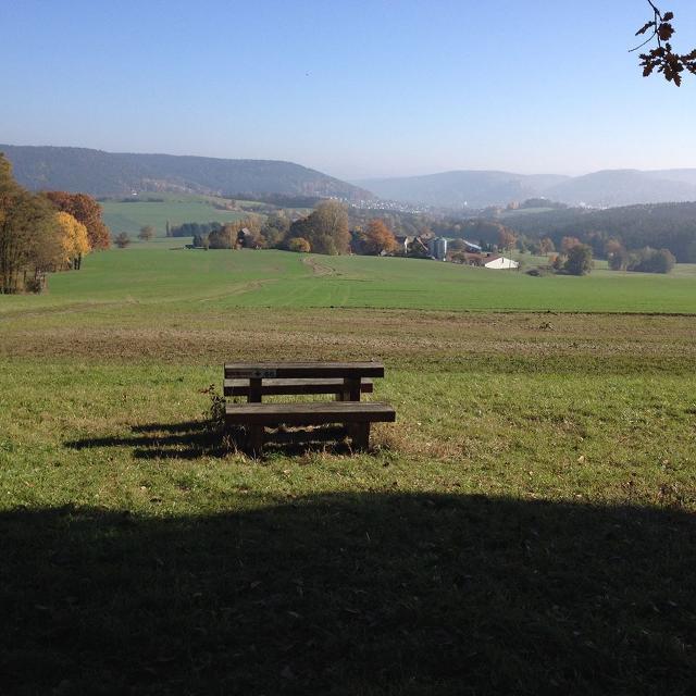 Blick über Kulmbach