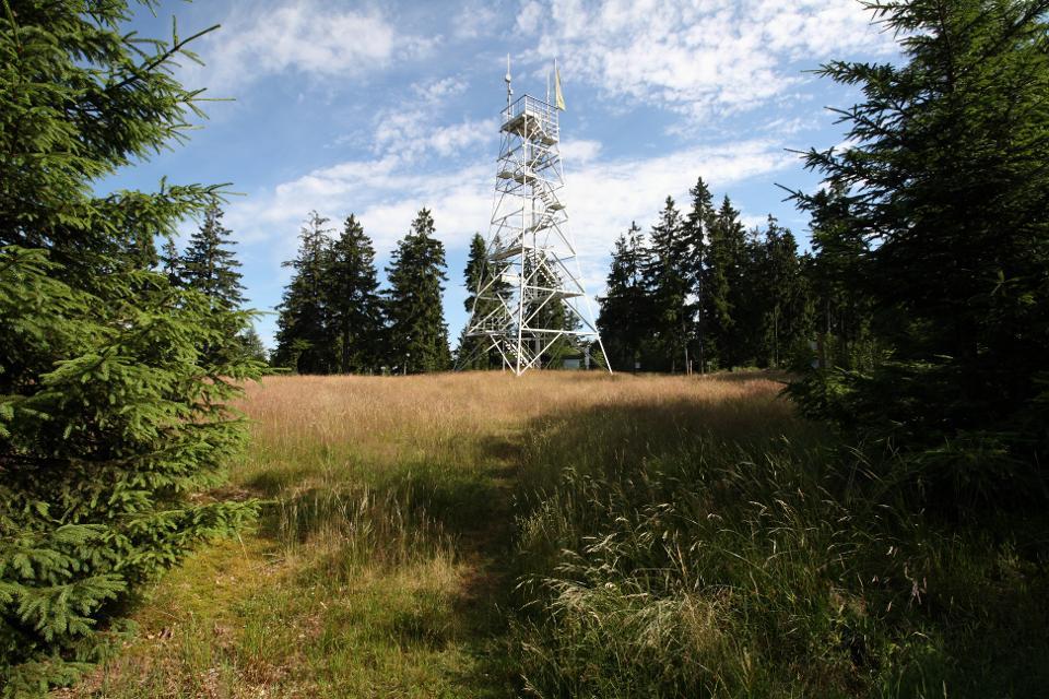 Prinzregent Luitpold Turm auf dem Döbraberg