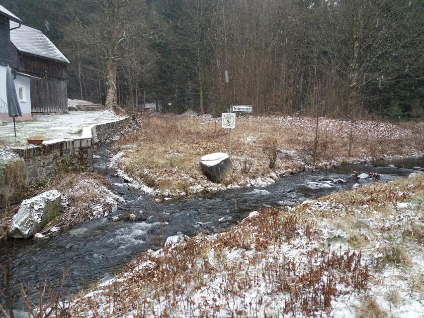 Dreiherrenstein im Winter