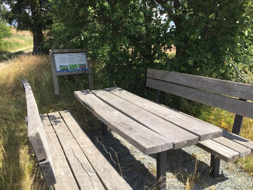 Sitzgruppe am Regberg