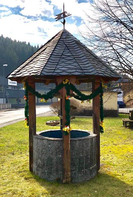 Osterbrunnen Alexanderhütte