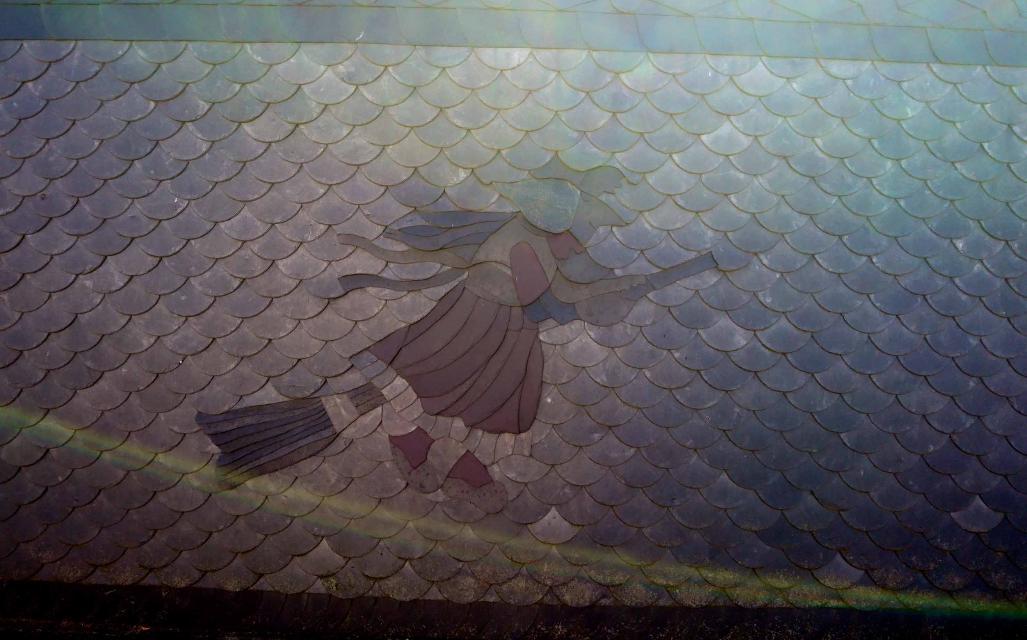 Schieferbild in Rodesgrün
