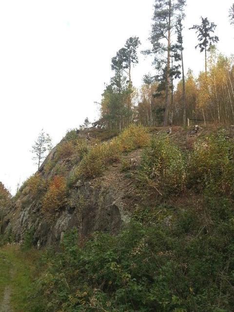 Weißer Felsen
