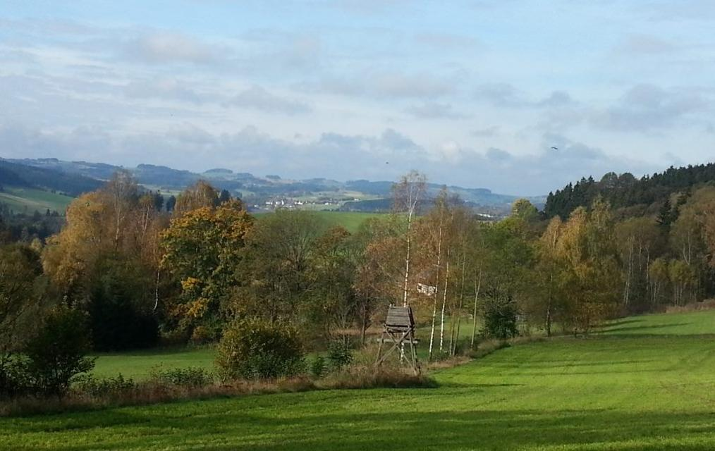 Griesbach, Blick auf Bobengrün