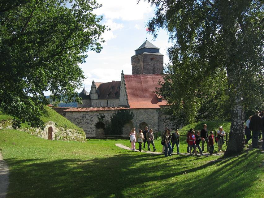 Festung Rosenberg mit Festungswald