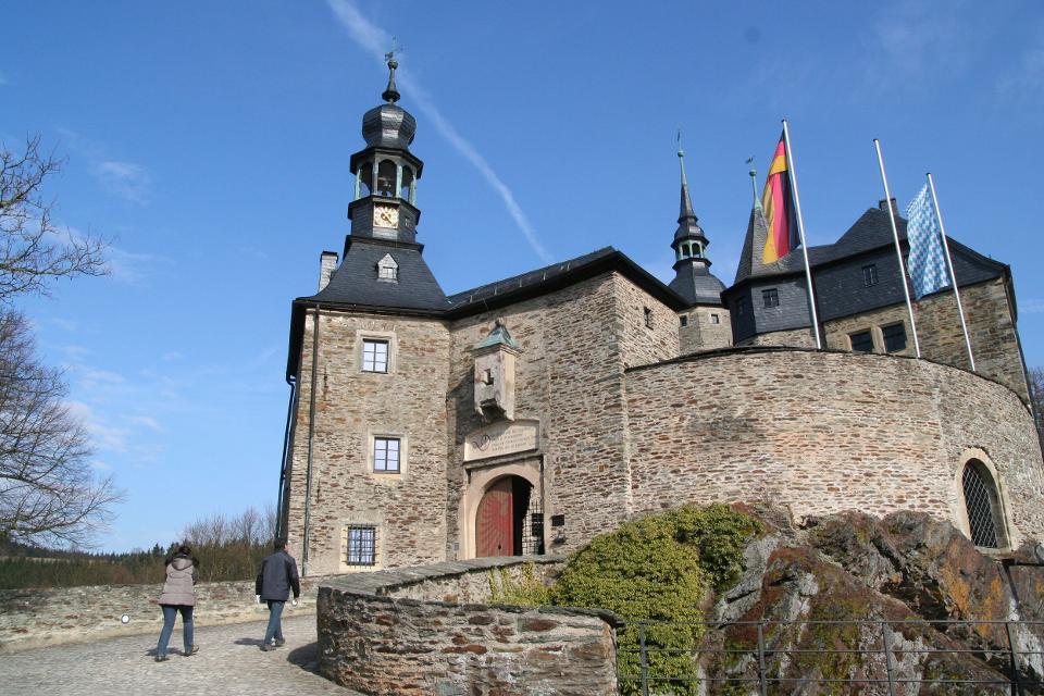 Innenhof Burg Lauenstein
