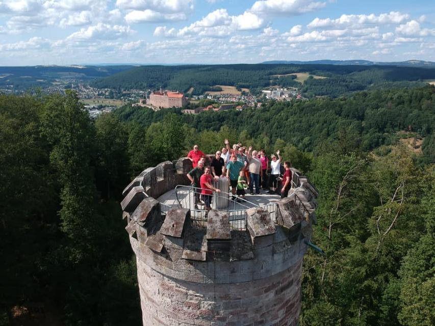 Auf dem Rehbergturm