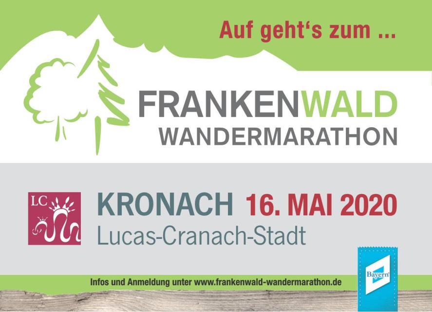 Frankenwald Wandermarathon 2020 Kronach