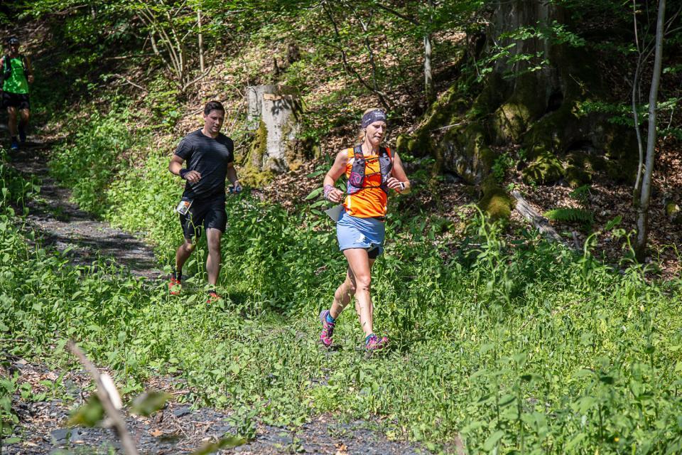 Beim Crazy Runners Frankenwald Trail