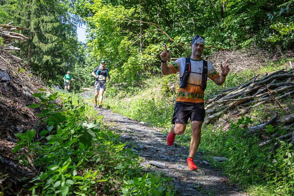 Trailrunning-Spaß beim Crazy Runners Frankenwald Trail