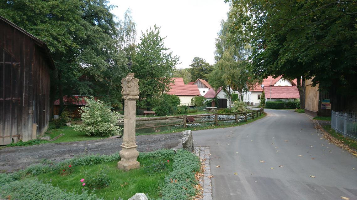 Ortsmitte Vogtendorf
