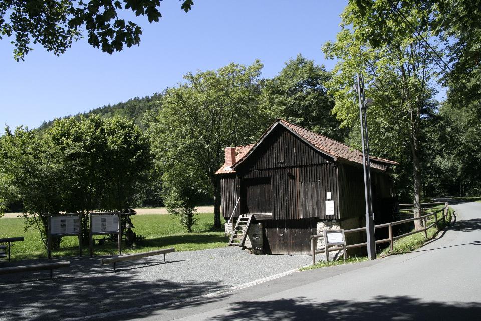 Schneidmühle am Hochofen