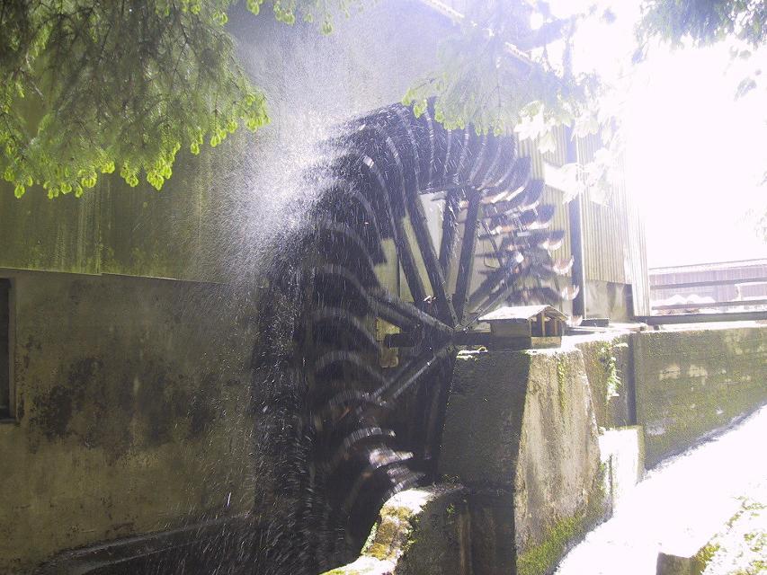 Mühlrad der Hammermühle