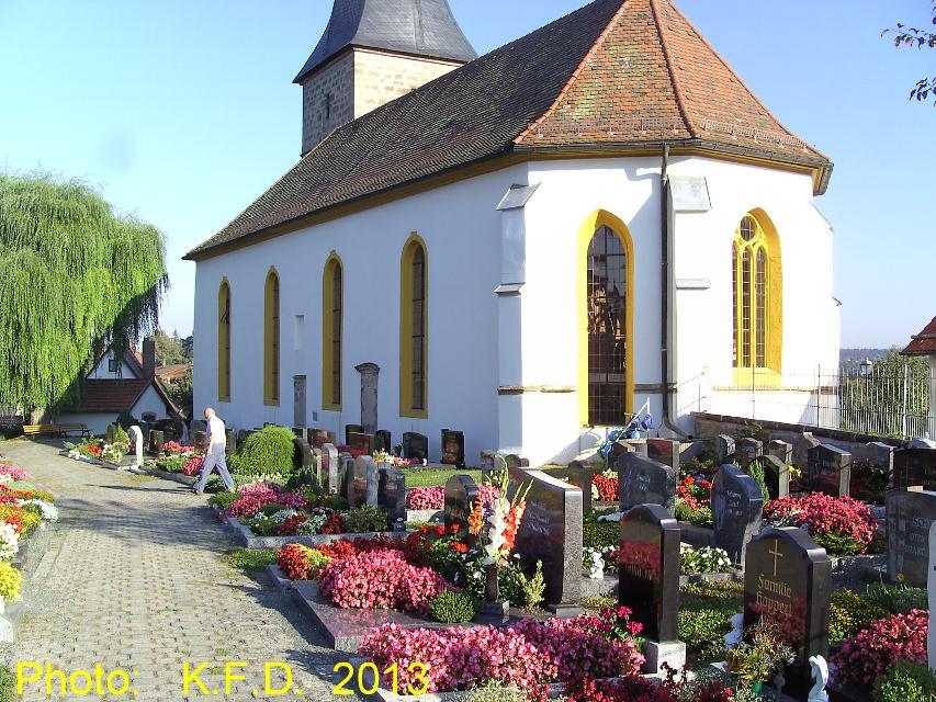 Kirche mit Friedhof Lanzendorf