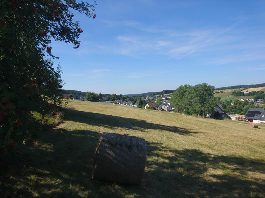 Blick auf Windheim