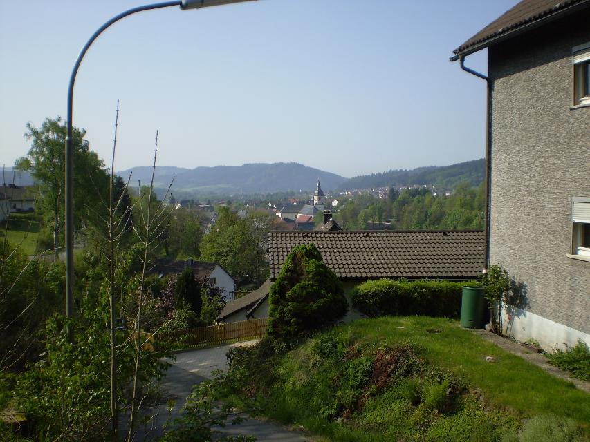 Blick auf Rothenkirchen