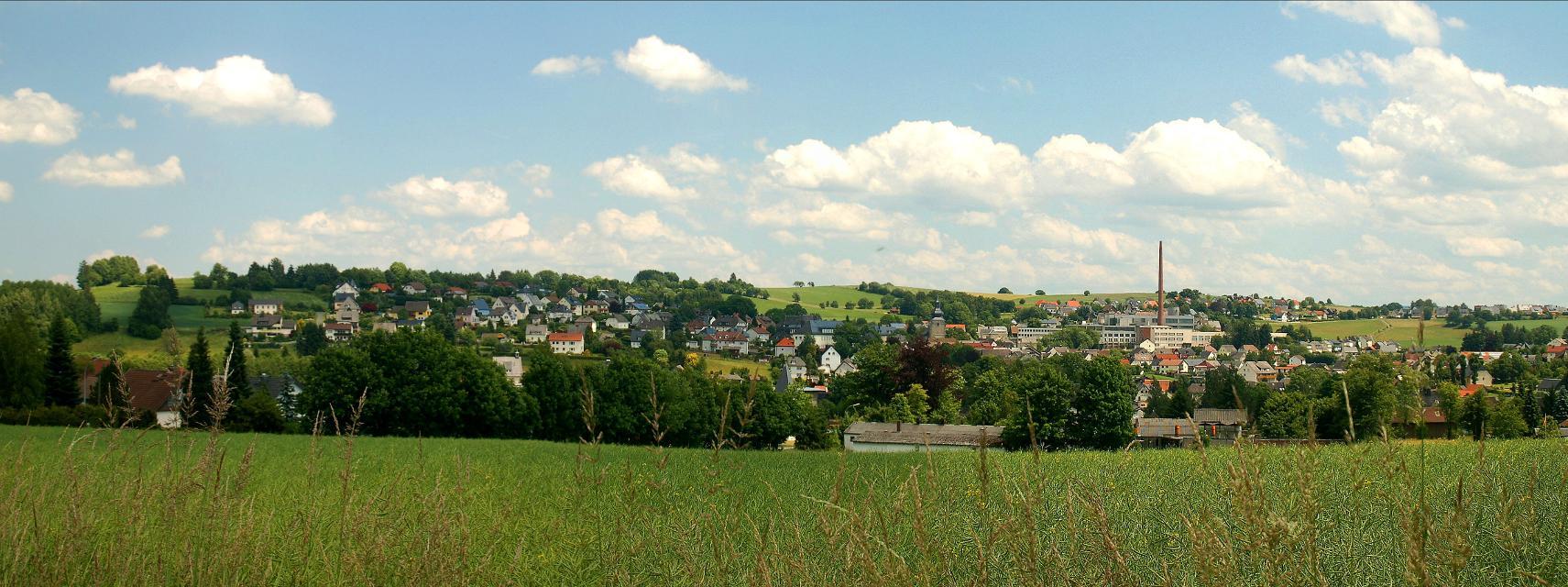 Blick auf Stammbach